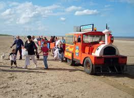 Beach train